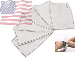 PM2.5 Activated Carbon Replacement Filter Mask Filter (30 pcs)