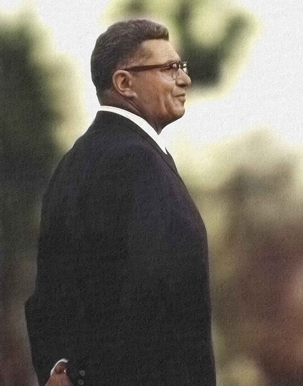 Vince Lombardi Green Bay Football Head OFFicial Las Vegas Mall shop HOF of Fame Hall Ar Coach