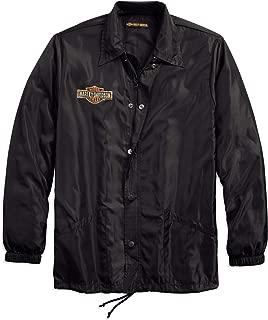 Official Men's Lightweight Slim Fit Jacket, Black