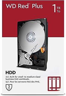 """WD Red Plus 1TB NAS 3,5"""" interne harde schijf - 5400RPM-klasse, SATA 6Gb/s, CMR, 64MB Cache"""
