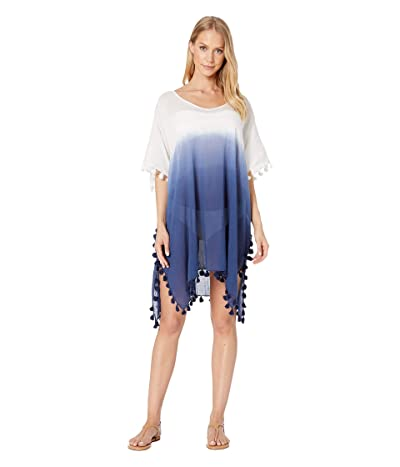 Seafolly Dip-Dye Kaftan Cover-Up (Blue Opal) Women