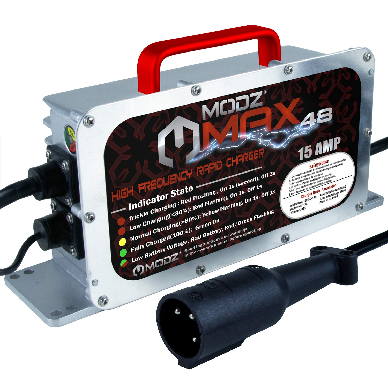 Max48 Battery Charger Golf Carts