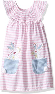 Baby Girls' Easter Holiday Sleeveless Casual Dress