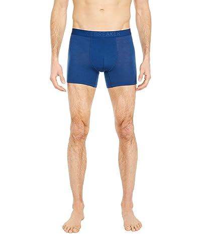 Icebreaker Anatomica Cool-Lite Boxers (Estate Blue) Men