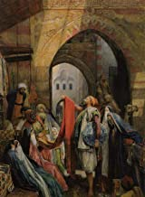 9 Famous Paintings - AED200-4000 Hand Painted by Academic Artists - A Cairo Bazaar Arab Egypt John Frederick Lewis middle ...