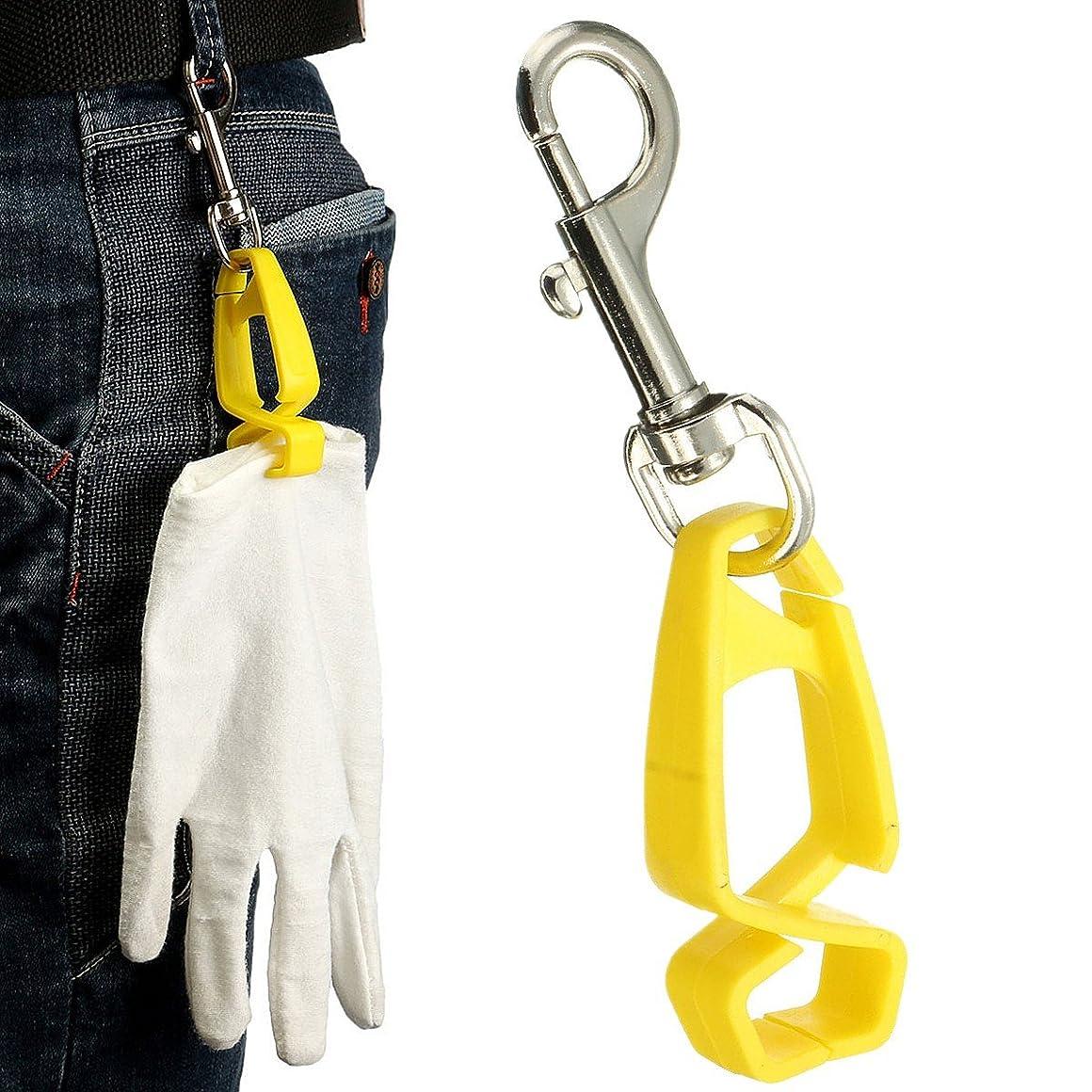 葉重さ巨人Queenwind の安全手袋の監視クリップのホールダーは付すために手袋のタオルのメガネヘルメット