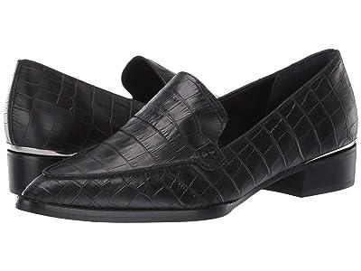 Dolce Vita Arlene (Noir Croco Print Leather) Women