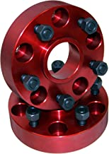 Alloy USA 11300 Red 1Wheel Spacer Pair (1.5
