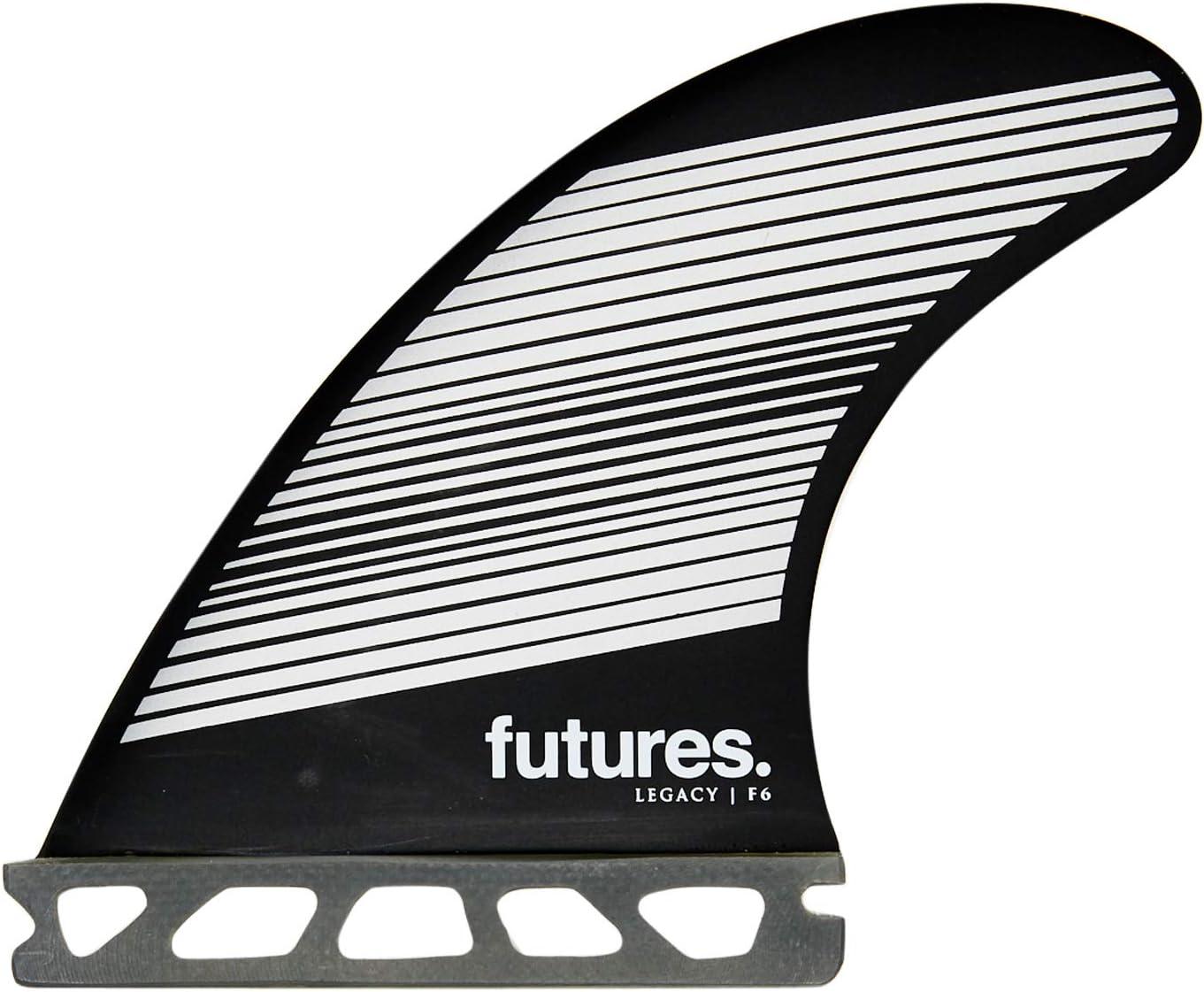 Futures F6 Surprise price Legacy Thruster Miami Mall Set Gray Fin Black