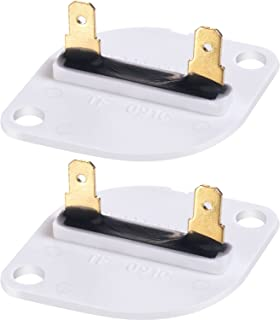 BBTO 2 Pack 3390719/WP3390719 Dryer Thermal Fuse Replacement for 688841, 690198, 279650, 3389639 of Whirlpool, Sears, Kenmore, Kirkland, Kitchen Aid, Roper, Estate, Maytag, Magic Chef