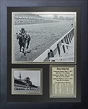 "Legends Never Die Secretariat 1973 Triple Crown Winner Framed Photo Collage, 11"" X 14"""