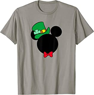 Mickey Mouse Icon St. Patrick's Day Irish T-Shirt