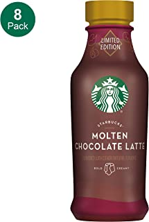Starbucks, Iced Latte, Molten Chocolate, 14 Fl Oz (Pack of 8)
