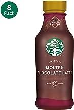 Starbucks, Iced Latte, Molten Chocolate, 14 Fl Oz (Pack of 8)