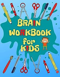 Brain Workbook for Kids: Big Kindergarten Workbook to Workout Brain, Unbreakable Brain Health Book for Kindergarten, Brain...