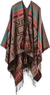 Women Poncho Capes Shawl Cardigans Sweater Coat Oversized Blanket