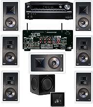 Klipsch KL-7800-THX 7.1 In-Wall-Rear Ceiling-SW-310-Onkyo TX-NR838 7.2 Channel- White