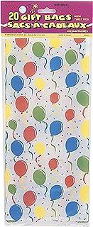 Unique Party Balloon Design Cello Bags (Pack Of 20)
