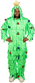 Tipsy Elves' Men's Tree Time Jumpsuit - Funny Green Holiday Onesie