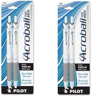 PIL31895 - Pilot Acroball .7mm Retractable Pen, 2 PACK