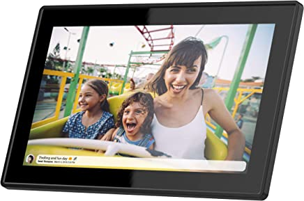 $219 Get Feelcare 15.6 Inch 16GB WiFi Digital Picture Frame with FHD 1920x1080 IPS Display,Touch Screen,Send Photos from Anywhere in The World, Wall Mountable, Portrait and Landscape(Black)