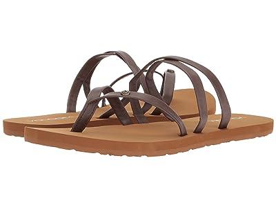 Volcom Easy Breezy Sandals (Brown) Women