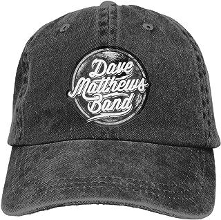Dave Matthews Band Denim Hat Fashion Can Adjust Denim Cap Baseball Cap Unisex