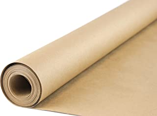Ofelia & Co. Kraft Wrapping Paper Roll Made of Recycled Materials in Canada, Perfect for All Packing, Arts and Crafts Use...