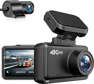 2020最新版 Changer ドライブレコーダー 4K Ultra HD 前後カメラ GPS wifi搭載 ジェスチャーコントロール SONY製CMOSセンサー搭載 WDR搭載 暗視機能 ノイズ対策済 駐車監視 LED信号対応 Gセンサー 常...