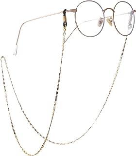 fishhook Delicate Eyeglasses Irregular Textured Rhombus Holder Chain Sunglasses Reading Glasses Strap Holder Chain Keeper Lanyard for Women Men Girls Grandma