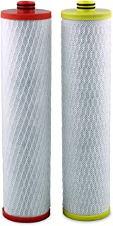 Aquasana Replacement Filters Stage 1 and 3 for Aquasana OptimH20 Reverse Osmosis Water Filter