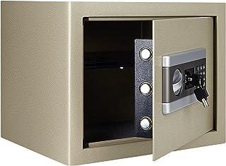 Veilige beveiligingsdoos, TOPQSC brandwerende en waterdichte veilige kast, digitaal combinatieslot veilig voor contant gel...