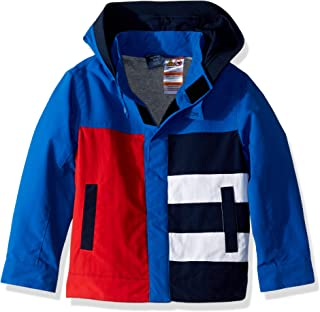 TOMMY HILFIGER Mens 7185100 Adaptive Jacket with Magnetic Buttons Jacket - Blue