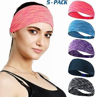 Set of 5 Women's Yoga Sport Headband For Headbands all...