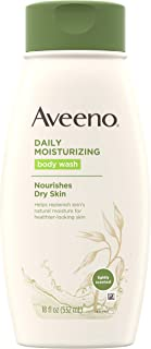 Aveeno Daily Moisturizing Body Wash with Soothing Oat, Creamy Shower Gel, Soap-Free and..