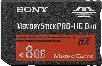 Sony 8 GB MS PRO-HG DUO HX High Speed Memory Stick (MSHX8B/M)