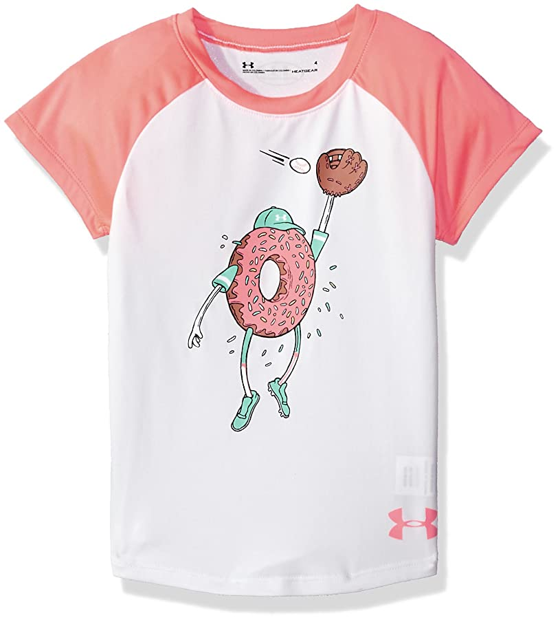 Under Armour Girls' Graphic Ss Tee Shirt