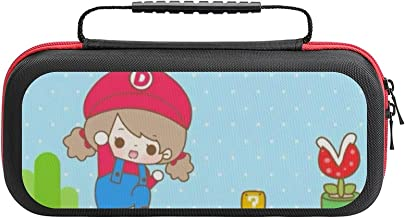 $20 » Super Mario Game. Bag, Switch Travel Carrying Case for Switch Lite Console and Accessories, Shell Protective Cover Organiz...