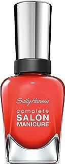 Sally Hansen Complete Salon Manicure™ - Kook A Mango, A Vibrant Orange-Red Nail Polish