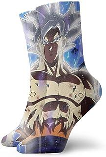eneric, Calcetines de compresión para hombre, diseño de Goku Boy
