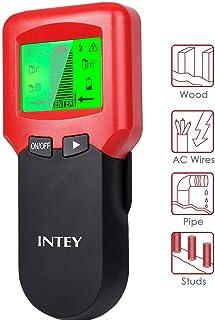 INTEY 3 N1 Detector De Pared Nuevo Detector Cables Rojo Para Detecta Madera , AC Y