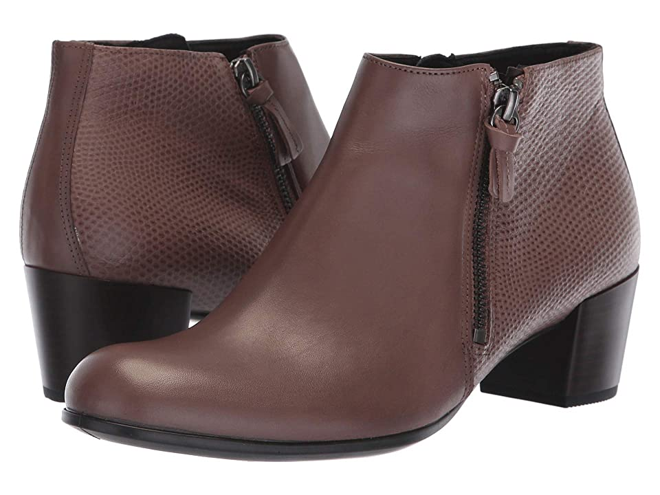 ECCO Shape M 35 Ankle Boot (Deep Taupe/Deep Taupe) Women