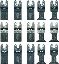 Pas StarLock 2 x TopsTools FA35ACT/_2 Changement rapide en carbure de tungst/ène Lames de Heavy Metal pour Dewalt Bosch Fein Makita Milwaukee Ryobi Worx Multitool Outil multifonction Accessoires