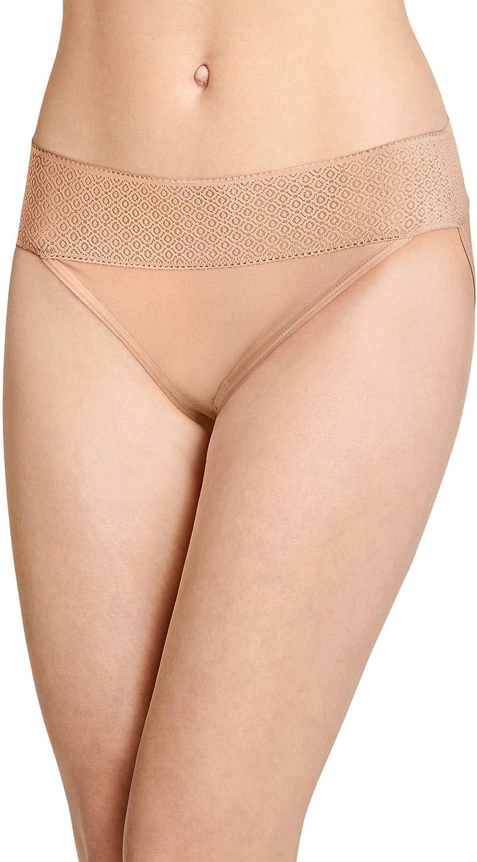 Jockey Women's Underwear Soft Touch Lace Modal String Bikini