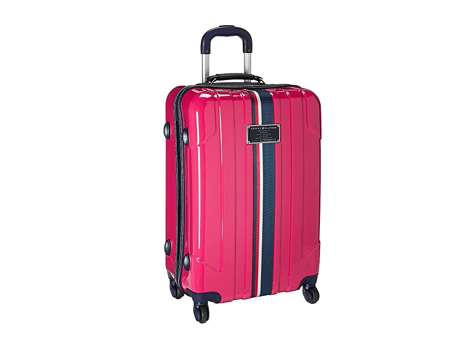 Tommy Hilfiger Lochwood Upright 24 Suitcase (Pink) Luggage