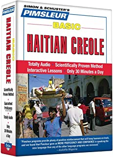 Pimsleur Haitian Creole Basic Course - Level 1 Lessons 1-10 CD: Learn to Speak and Understand Haitian Creole with Pimsleur Language Programs (1)