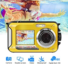 Underwater Camera Camcorder FULL HD 1080P for Snorkeling...