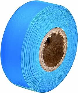 Brady Flourescent Blue Flagging Tape for Boundaries and Hazardous Areas - Non-Adhesive Tape, 1.188
