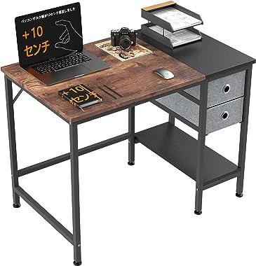 HOMIDEC 机 PCデスク パソコンデスク オフィスデスク ワークデス 勉強机 学習机 作業台 書斎机 ゲーミング デスク 书桌 电脑桌 Table Desk つくえ 作業テーブル 組立簡単 幅を増やす おしゃれ 収納 棚 フック付き 耐熱・耐汚