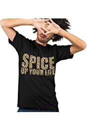 Union Jack Spice Tee Girls Top Girls Womens Mens Spice Up Your Life T-Shirt